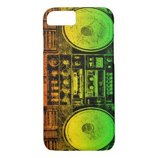 Rasta ghetto blaster iPhone 8/7 case