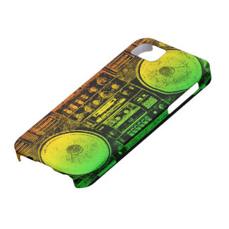 Rasta ghetto blaster iPhone SE/5/5s case