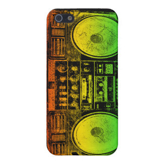 Rasta ghetto blaster iPhone SE/5/5s cover