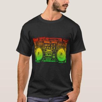 Rasta ghetto blaster T-Shirt