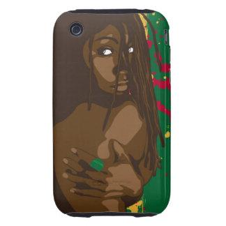 Rasta Girl iPhone 3 Tough Cover