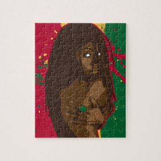 Rasta Girl Puzzle