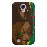 Rasta Girl Samsung Galaxy S4 Cover