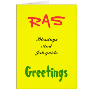 Rasta greetings gifts on zazzle rasta greeting cards m4hsunfo