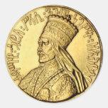 Rasta His Imperial Majesty Selassie I Sticker