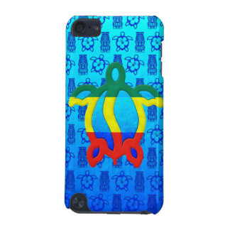 Rasta Honu Blue Tiki iPod Touch (5th Generation) Cover