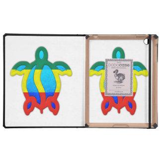 Rasta Honu iPad Carcasas