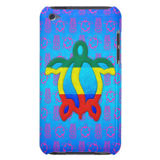 Rasta Honu iPod Touch Case-Mate Carcasas
