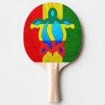 Rasta Honu Ping-Pong Paddle