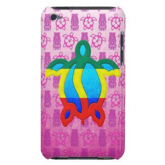 Rasta Honu Tiki rosado iPod Touch Cárcasas