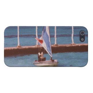Rasta in a Sailboat Montego Bay Jamaica iPhone 5/5S Case
