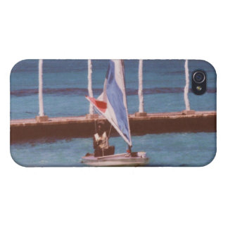 Rasta in a Sailboat Montego Bay Jamaica Covers For iPhone 4