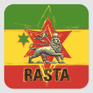 Rasta Irie Lion of Judah Sticker