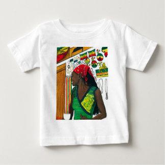 Rasta Jessie's Blue Mountain Coffee Shop.jpg Baby T-Shirt