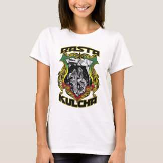 """Rasta Kulcha by RastaBot """"Selassie I Tee"""" T-Shirt"""