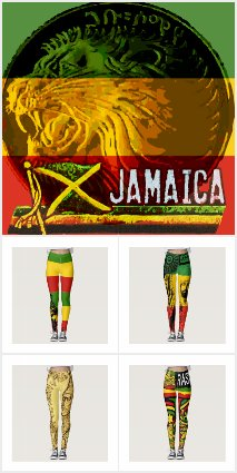 RASTA LEGGINGS