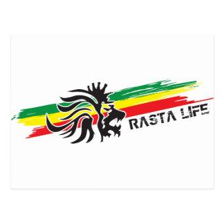 Rasta Life Post Card