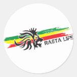Rasta Life Sticker