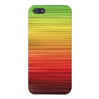 Rasta Lined Iphone 4 Case
