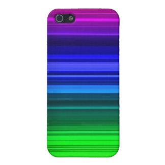 Rasta Lined Rainbow Iphone 4 Case
