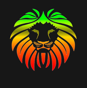 Rasta Lion Head T-Shirt