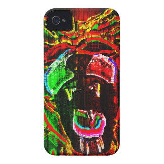 Rasta Lion iPhone 4 Cover