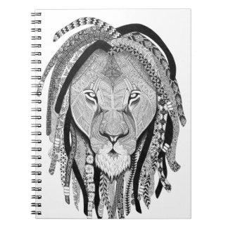 Rasta Lion Notebook
