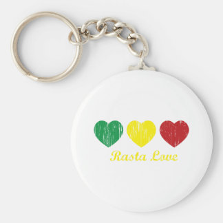 Rasta Love Key Chains