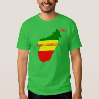 RASTA MADAGASCAR T SHIRT