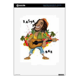 Rasta Man I Pad 3 Skin Skin For iPad 3