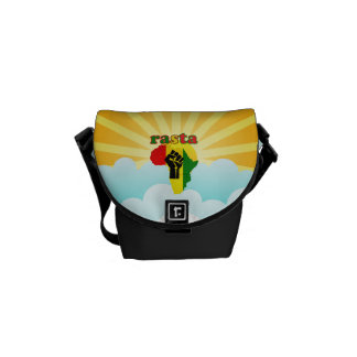 Rasta Mini Messenger Bag