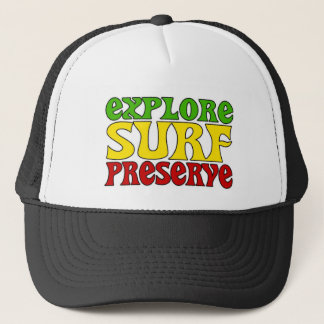Rasta Mission Trucker Hat
