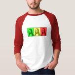 Rasta Mona Tee Shirts