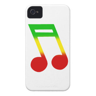 Rasta Music Note Case-Mate iPhone 4 Case