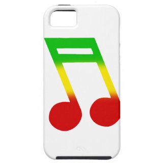Rasta Music Note iPhone SE/5/5s Case
