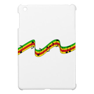 Rasta Music Staff Cover For The iPad Mini
