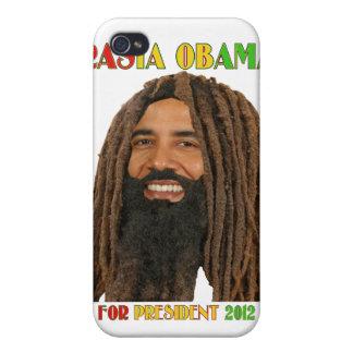 Rasta Obama para el caso 2012 del iPhone 4 del pre iPhone 4/4S Fundas