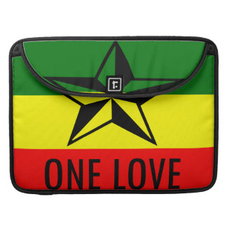 Rasta One Love MacBook 15 inch Sleeve