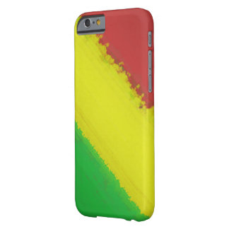 Rasta Paint Swipe Barely There iPhone 6 Case