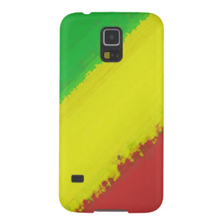 Rasta Paint Swipe Cases For Galaxy S5