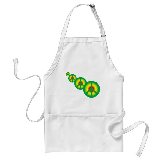 Rasta Peace Multi Adult Apron