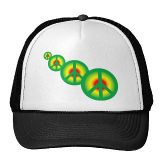 Rasta Peace Multi Hats