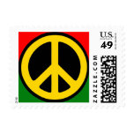 Rasta Peace Stamp