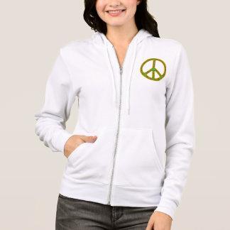 Rasta Peace Symbol Hoodie