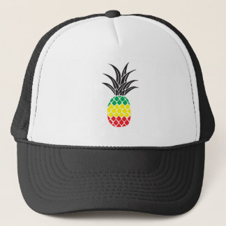 Rasta Pineapple Trucker Hat