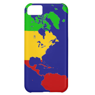 Rasta Planet Earth Case For iPhone 5C