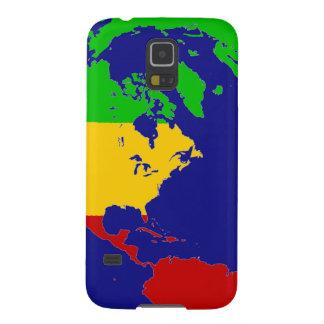 Rasta Planet Earth Galaxy S5 Covers