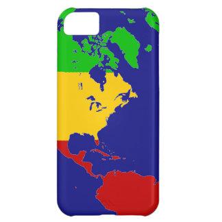 Rasta Planet Earth iPhone 5C Cover