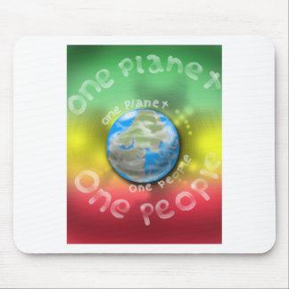 rasta-planet mouse pad