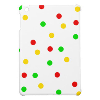 Rasta Polka Dots Case For The iPad Mini